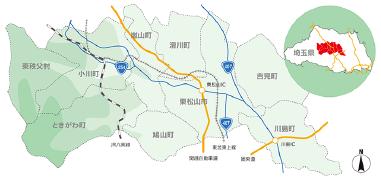 地理概況図