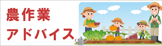 農作業アドバイス