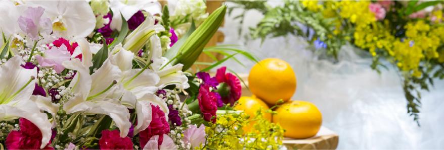 葬祭の花イメージ